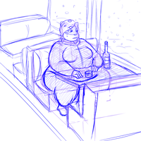 Netra at the resturant doodle by SlushBear