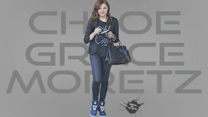 Chloe Moretz on the street by ardhagaruda