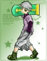Killua from HunterXHunter by Zestyx