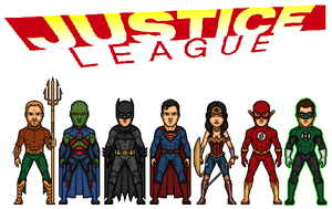 Justice League by dudebrah