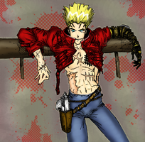Sexy Vash by BattleAngelGally
