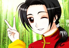 """APH: Wang Yao """"Peace"""" by oneandonlyLLAT"""