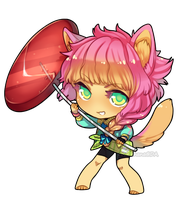 ChibiCM:: Massybeast by CookieHana