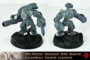 Imperial Cataphract Robots UP by Proiteus