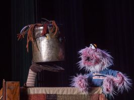 Kevin Kammeraad and Friends [Puppets] by KBeezie