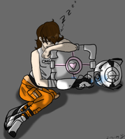 Portal 2 ID 1 by Cabooselover