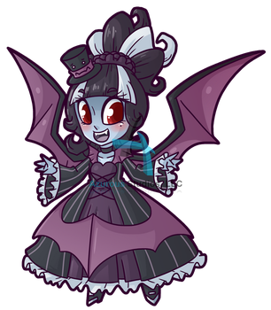 Wicked Wardrobe: Vampire Monsdress by DrCrafty