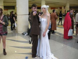 10th Doctor and Moon Queen by Usagi-Princess