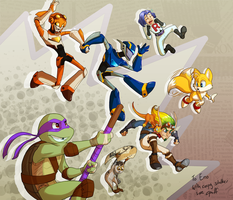 Gift Art: Everybody jump! by C-Puff