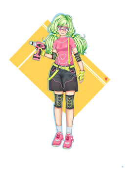 Team 1 - Girl by voltronia