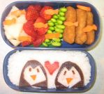 Peggy Love Bento by gargoylekitty