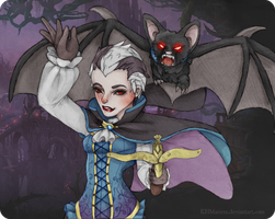 Vampire Quinn and Valor Splash Concept by KHMarie12