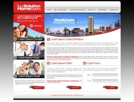 YourHomeSolutions web page by djnick2k