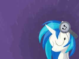 Vinyl Scratch Simple by Grennadder