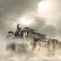Huang Shan Mountains by foureyes
