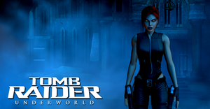 Tomb Raider Underworld Laras Shadow Wallpaper by xDLGx