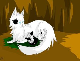 Warrior cats: Pawpelt by WhiteFlameSoul