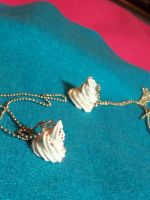 Whipped Cream Necklaces by kawaiibuddies