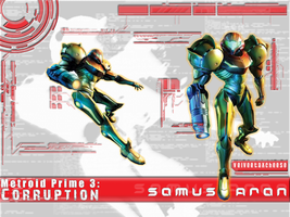Samus Aran Metroid Prime 3 by GreenFarore