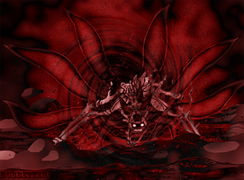 6 Tailed Naruto Background by bobbetter2