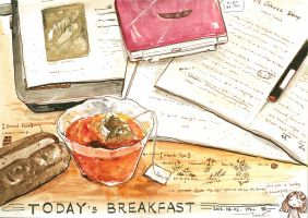 #daily055 Today's Breakfast (7) by tinashan