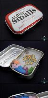 Commission: Octopus Altoids Smalls Tin by Bon-AppetEats