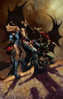 THE END LEAGUE 8_cover by EricCanete