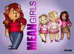 Mean Girls Lohan Bear by ChibiCelina