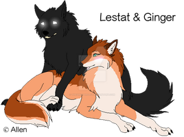 Lestat and Ginger by TheSinistersAct