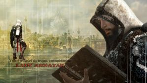 Ezio to LadyAnnatar by shatinn