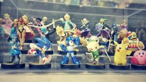 My current SSB Amiibo collection by Quas-quas