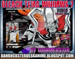 Ichigo Hollow Form Theme Windows 7 by Danrockster