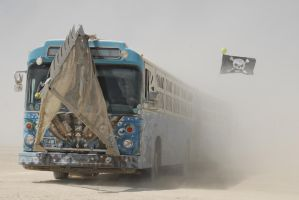 Burning Man - Pirate Bus by Malach