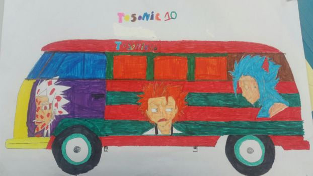 toshiro bus by Tosonic10