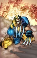 wolverine color by mennyo