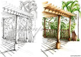 Sketch and Rendering Exercise2 by shimpilkyo