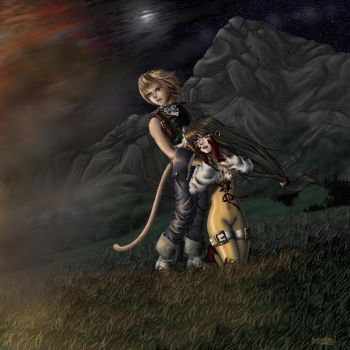 FF9- Home is Where the Heart.. by animetayl