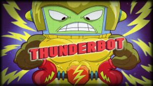 thunderbot by HEROBOY
