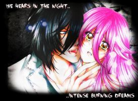 we hear intense burning dreams in the night by ChichiriYuki