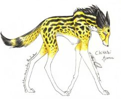 kingcheetahManedwolf by moonfeather