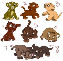 Cub Adopts (OPEN) by lionkinglover0514