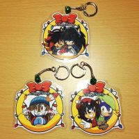 Holiday Keychain Examples by Shannohn
