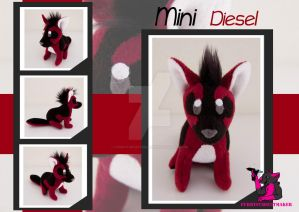 MINI Diesel - plush by FurryFursuitMaker