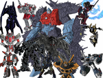 transformers collage by Saphrire