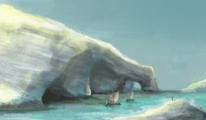 Sail out : Speed Painting Study by hyxhoratio