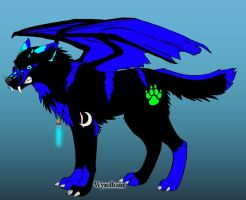 Tala the wolf by wolfgirl-1999