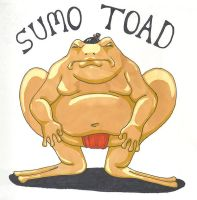 The Sumo Toad by Scuter