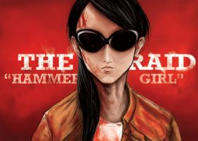 The-raid 2 HAMMER GIRL by kevinandy