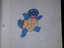 Squirtle by DevilGator17