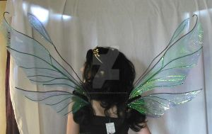 Large Double Fairy Wings 4 by FaeryAzarelle